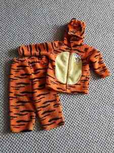 24 months - 2 Piece Tiger Suit Set - perfect for car seat