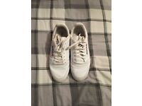 Reebok classics in white only worn a few times so still in very good condition