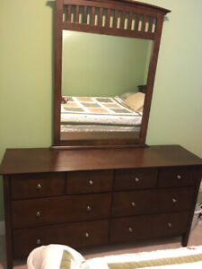 8 drawer dresser and 6 drawer chest