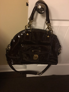 Coach Brown Patent Leather Bag Brand New