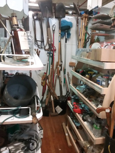 Tools, hardware, wood, collectibles plus 1000 booths