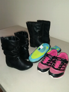 Size 9 girls boots/shoes . $20 for all