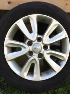 Four 16in alloys of my Kia Soul great condition