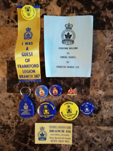 ROYAL CANADIAN LEGION COLLECTION