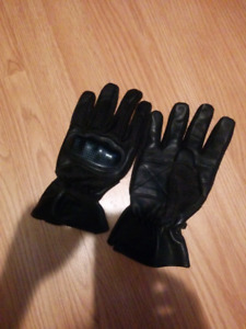 Gants neuf de moto  cuir protection jointure