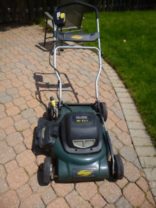 "Yardworks Electric 20"" Lawnmower"