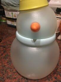 Snowman ice bucket
