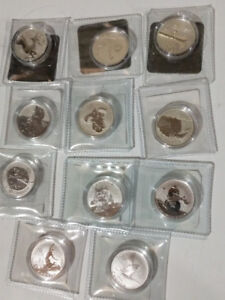 Canadian Silver $20 Coins