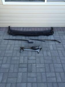 2009 Honda Accord coupe 2 door wiper motor , arms, blades trim