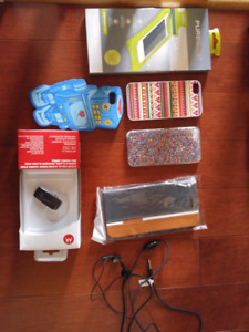 Cellphone accessories - case, cover, bluetooth, screen protector