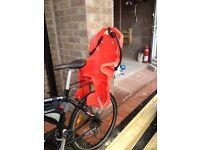 Checks rend rear bike seat