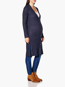 Thymes Maternity Long Cardigan