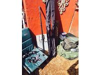 Carp fishing set up brand new Nash rods and reels