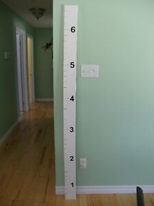 Custom Made Growth Chart Peterborough Peterborough Area image 6