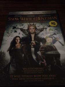 snow white and huntsman dvd