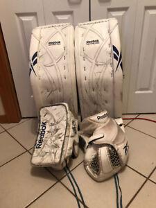 Carey Price SIGNED Pro Reebok Revoke Pads + Gloves