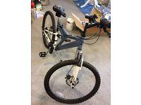 Muddy fox hussle duel suspension mountain bike