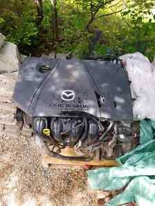 2007 Mazda 5 engine and transmission