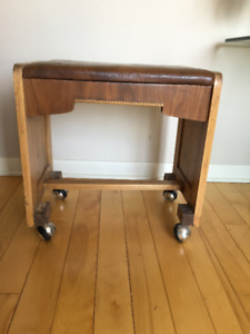 Petit Tabouret / Banc ** Antique ** Stool / Bench