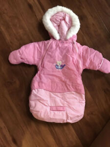 0 - 3 month - girls snow suit