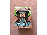 Mine craft Steve & diamond ore
