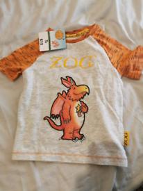Zog tshirt 12 to 18 months