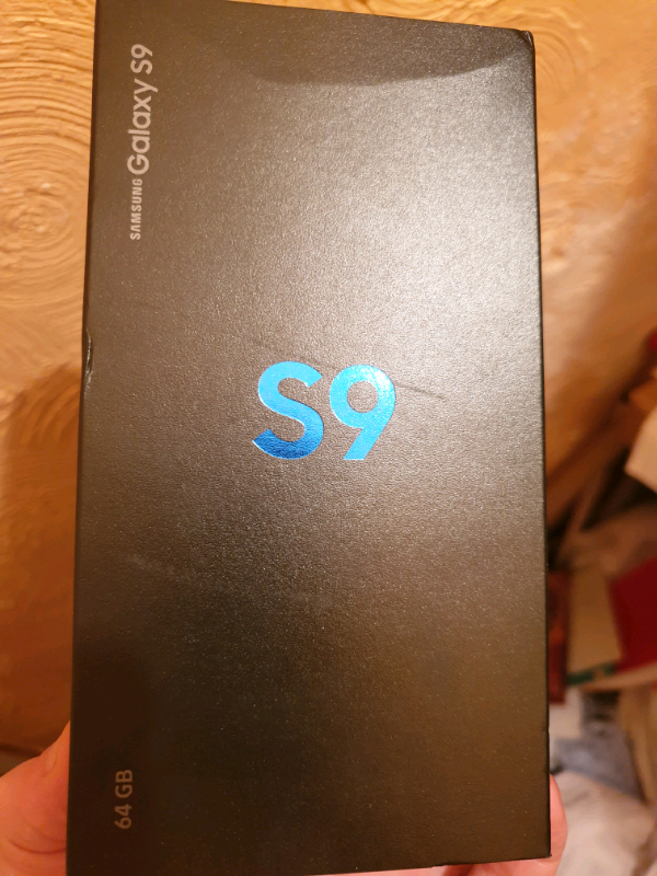 Boxed Samsung Galaxy s9 blue | in Mansfield, Nottinghamshire | Gumtree
