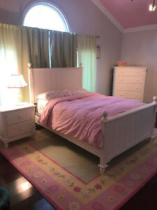 Little Girl's White Bedroom Set
