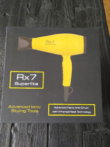 RX7 Superlite Advanced Nano Ionic Hair Dryer Yellow