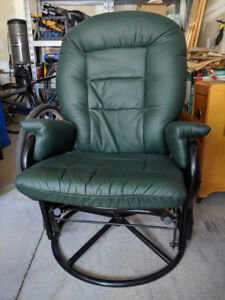 Chair and Footstool (Rocker)
