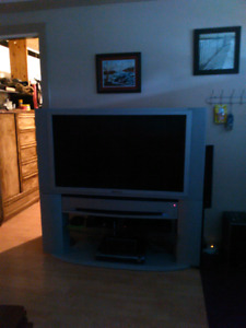 Older 50 inch with stand