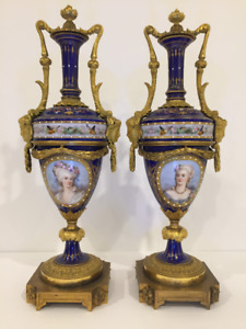 SEVRES STYLE this styleDECORATIVE URNS
