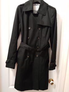 banana republic worn once womens trench