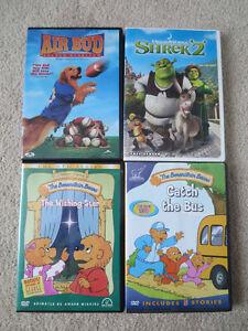 4 DVDs