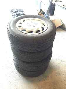 4 Full Package Winter Tires (Negotiable Price)