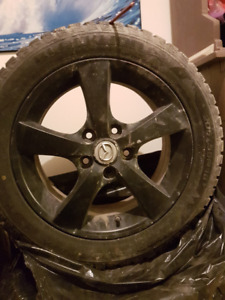 205 55R16  / x4 on alloy with 4 extra rubber