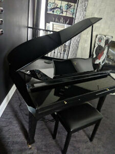 Electric baby grand piano Adagio - barely used