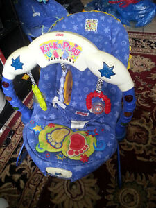 Fisher Price Musical Vibrating Bouncy Chair