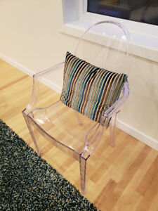 Brand NEW Set of 2 Ghost Chairs