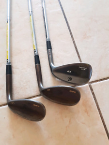 Cleveland RH Wedge set, 46, 54, 60 degree. Just re-gripped. Grea