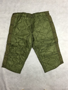 ARMY COLD WEATHER PANT LINERS (Medium Short/Regular)