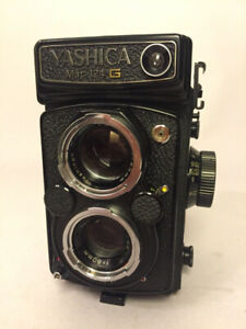 Yashica Mat 124G with wear mark film tested good user