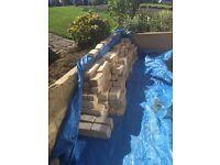 Sand stone bricks