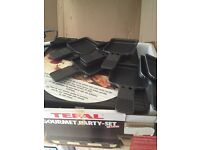 Tefal gourmet party set deluxe for 8 fully working