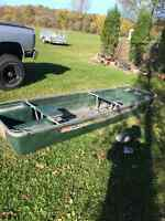 Duck Hunting Jon Boat
