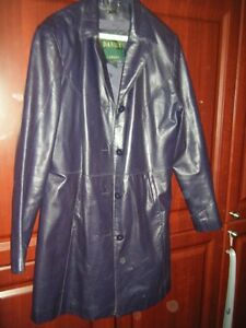 Leather Fall Car Coat