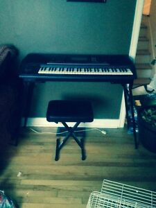 Keyboard + Stand and Stool