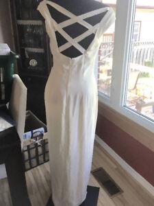 Ivory Grad / Prom Dress, Size 6/8