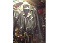Motorcycle or rock and roll jacket