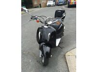 Retro Style 50cc Scooter/Moped Direct Bikes only 360km!!